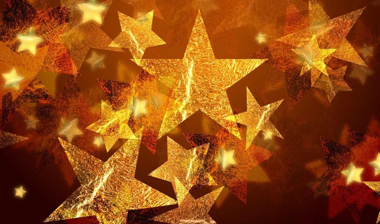 stars, holidays, resolution, high, bronze, gold,