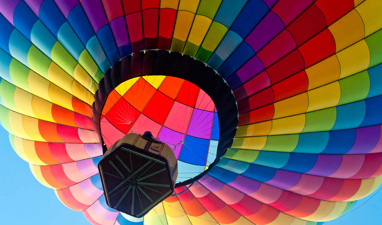 мяч, aerial, небо, корзина, полет, разрешения, макро, картинка,