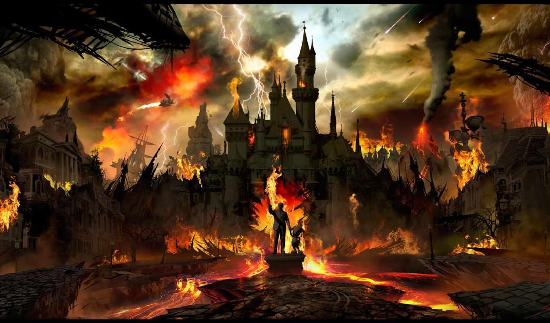 world, war, apocalyptic, третья, eden, empires, апокалипсис, пост, urban, more, disneyland,