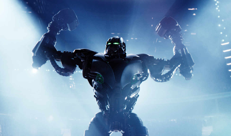 real, acero, robots, стальной, robot, gigantes, una, this,