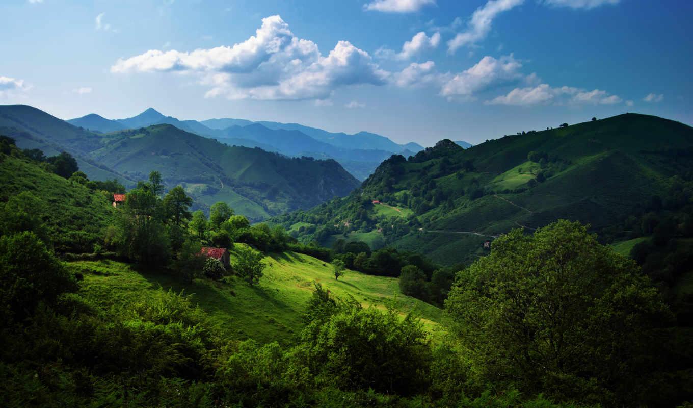 горы, природа, landscape, испания, швейцария, альпы,