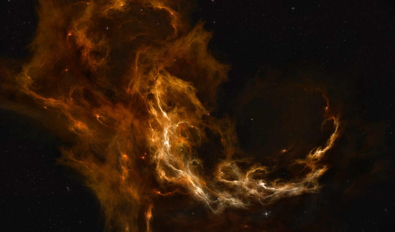 nebulae, space, stars, cessare, звезды, кассар, номером, экрана, монитора,
