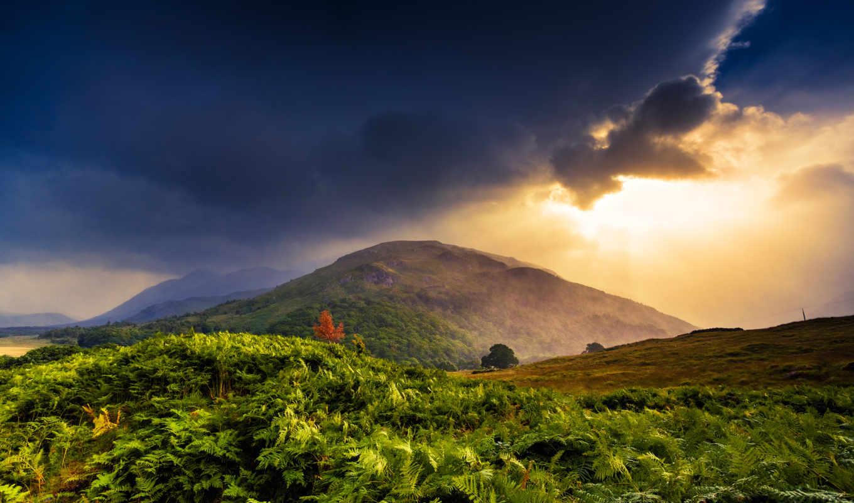природа, free, гора, landscape, fix, горы, тучи, numall,