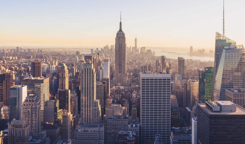 york, new, skyline, город, views, cityscape, desktop,