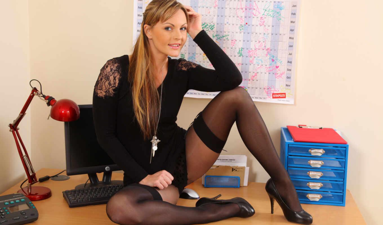 секси, русые, секретарши, ноги, чулки, туфли, колготки, drozd, lenka, взгляд,