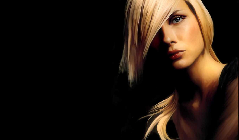 femme, стрижка, лица, black,