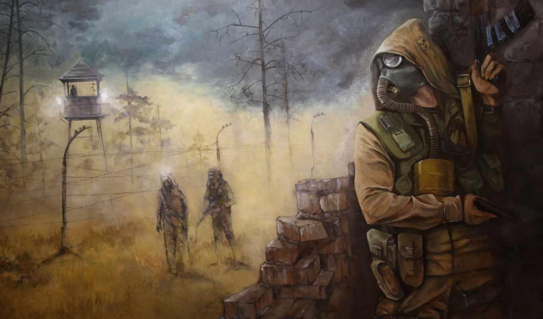 stalker, pripyat, zone,