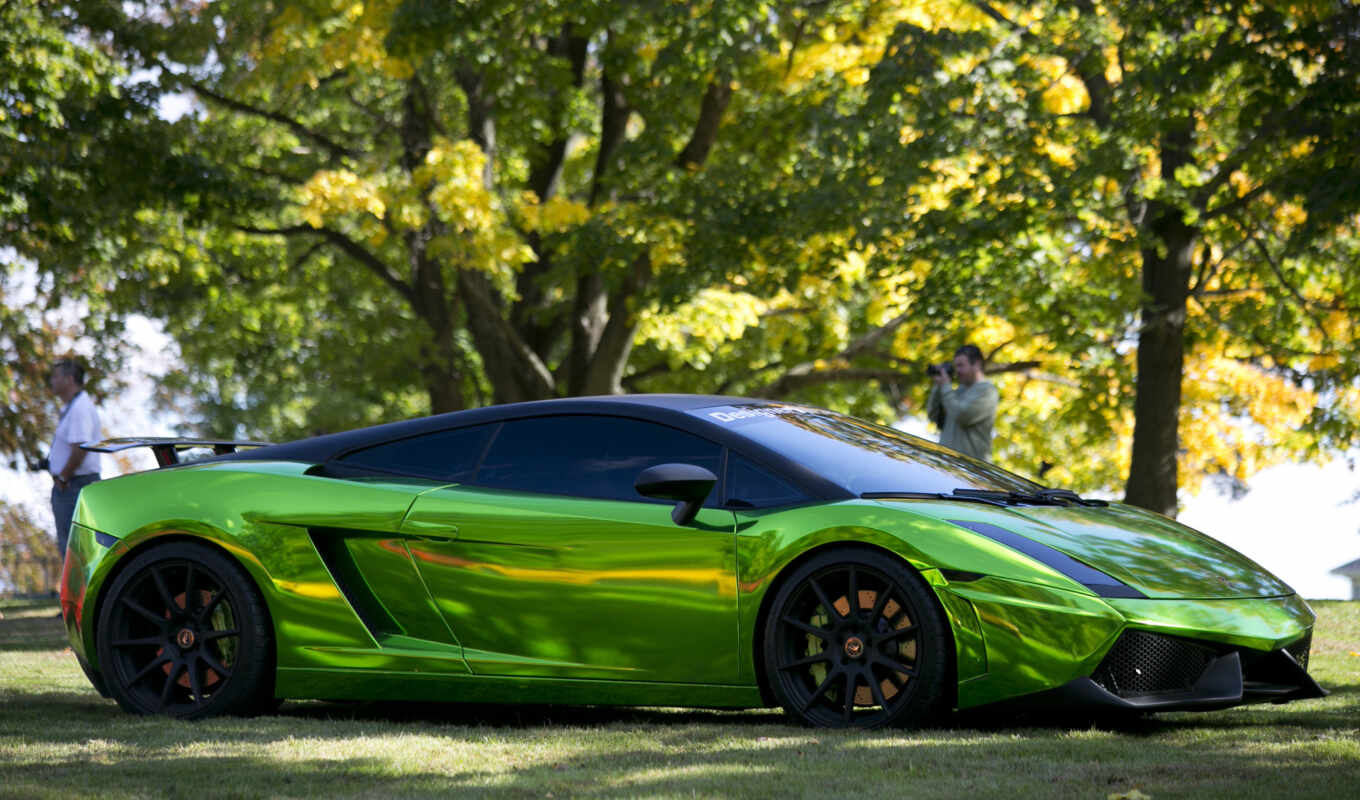 gallardo, lamborghini, green, prior, ламборгини, design,
