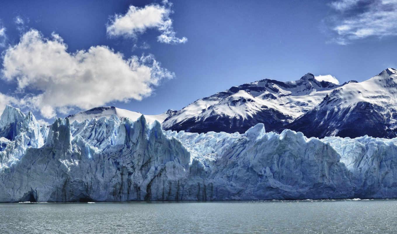 айсберги, ледники, arctic,арктику,рисунки