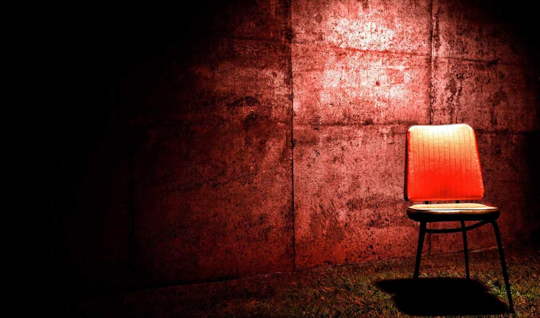art, creativ, картинка, кресло, стена, red, обработка, комната,