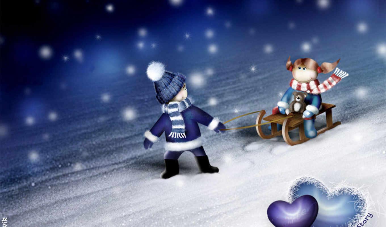 winter, new, красивые, год, коллекция,