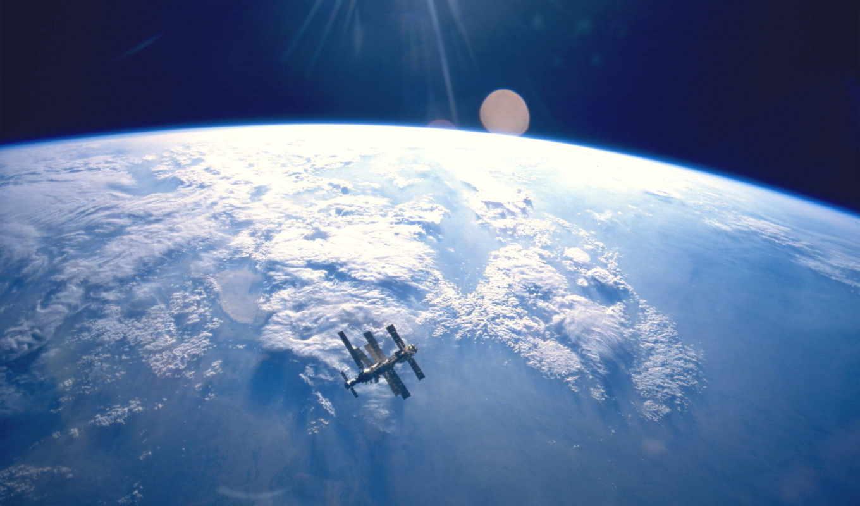 мкс, космос, земля, картинка, station, international, картинку, nasa, clouds, download,