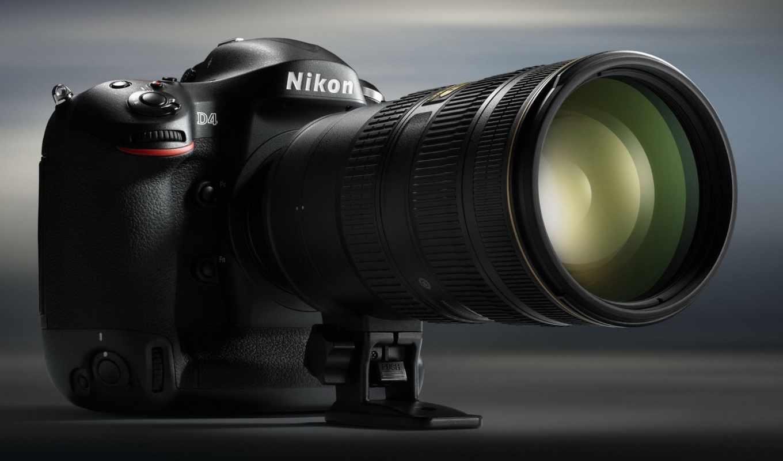 nikon, фотоаппарат, объектив, изображение,