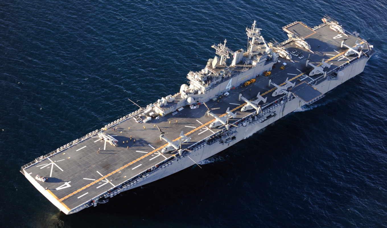uss, boxer, корабль, amphibious, assault, авианосец, многоцелевой, оружие,