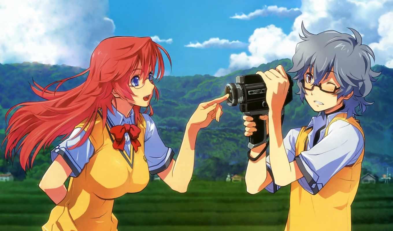 natsu, matteru, ano, anime, тебя, летом,