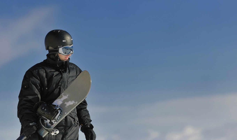 сноуборд, спорт, спортсменка, сноубордист, небо, горы, прыжок, загрузок, снег,
