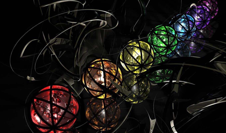 sphere, wallpaper, colorful, color, spheres, downl