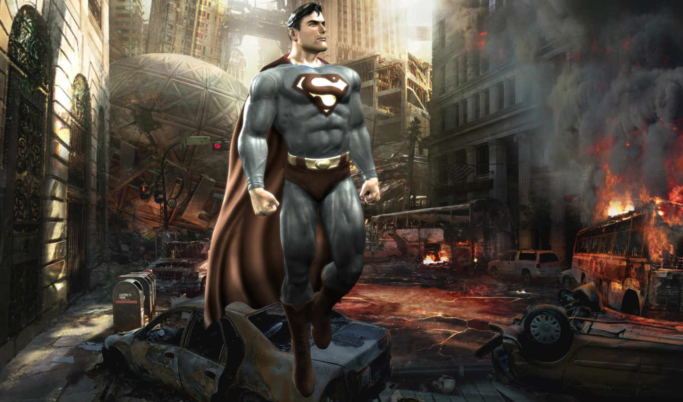 superman, mortal, kombat, universe, game, similar, free, город, desktop, хаос, tags, with,
