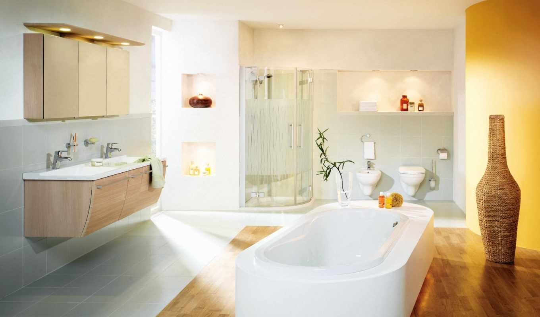 ванной, комнаты, красивые,