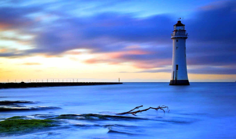 lighthouse, desktop, фон,