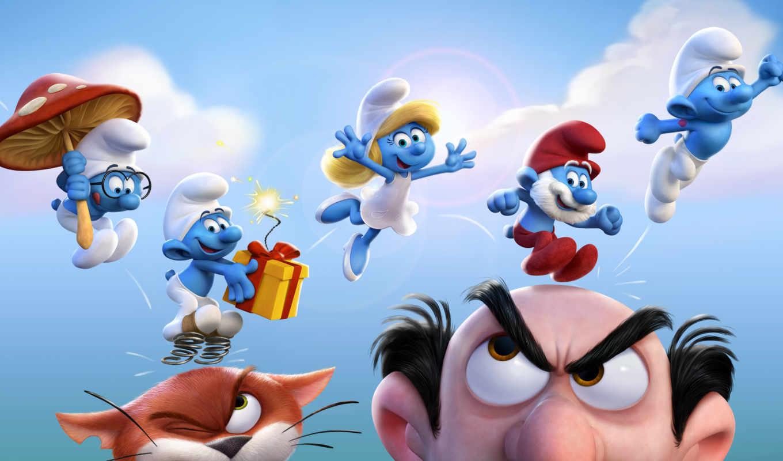 smurfy, get, smurfs, июнь, анимация, pictures, movie, smurfette,