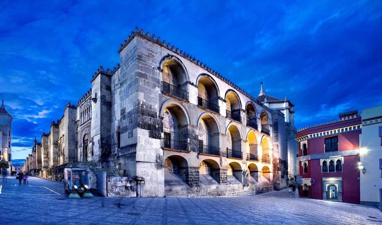 город, испания, cathedral, кордова