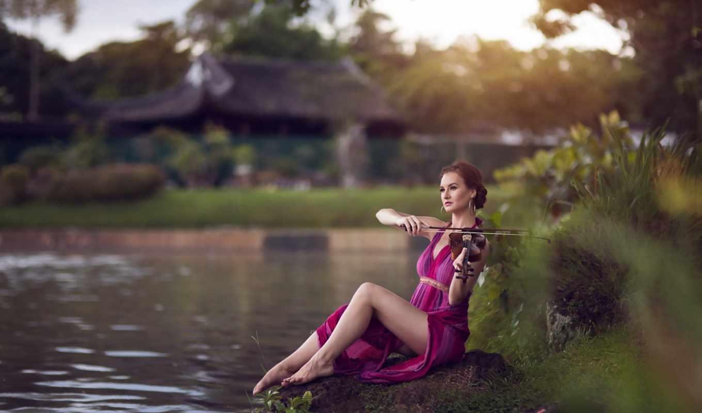 скрипка, музыка, девушка, amazing, паук, мужчина,