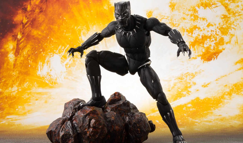 бесконечность, war, avengers, figuarts, рисунок, panther, black, bandai, tamashii, marvel,