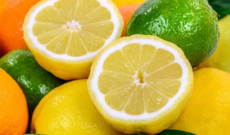 lima, lemon, цитрус