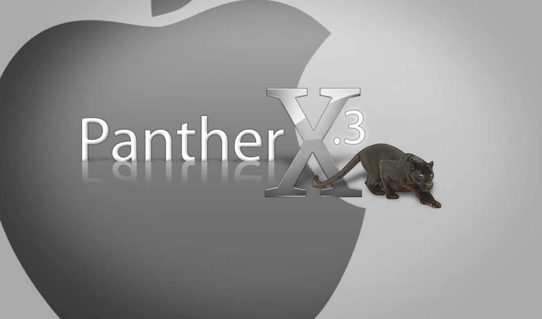 panther, apple, mac,