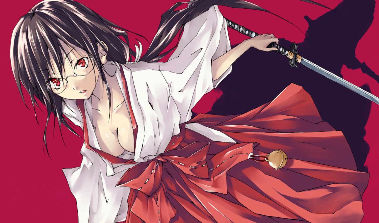 кровь, anime, картинка,