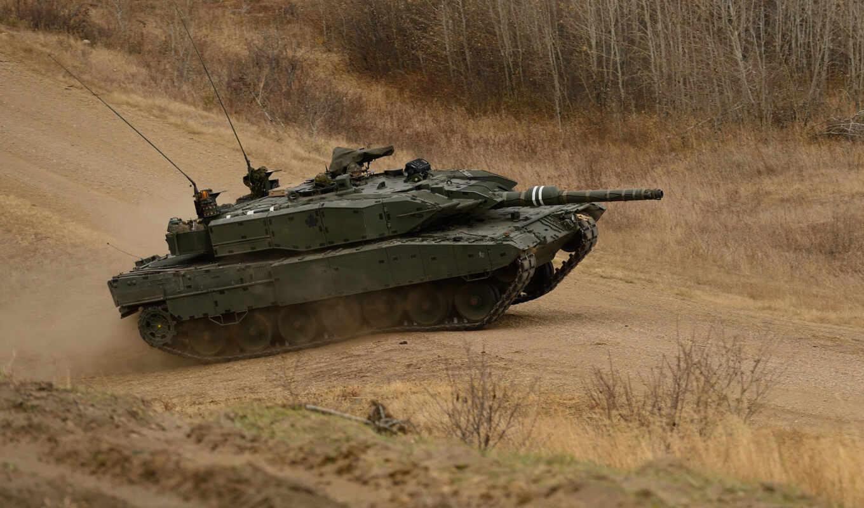 танк, леопард, combat, оружие, дорога,