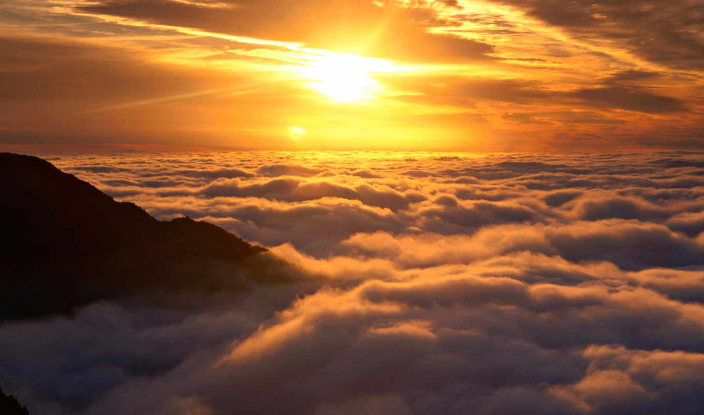 sun, clouds, download, above, desktop, photos,