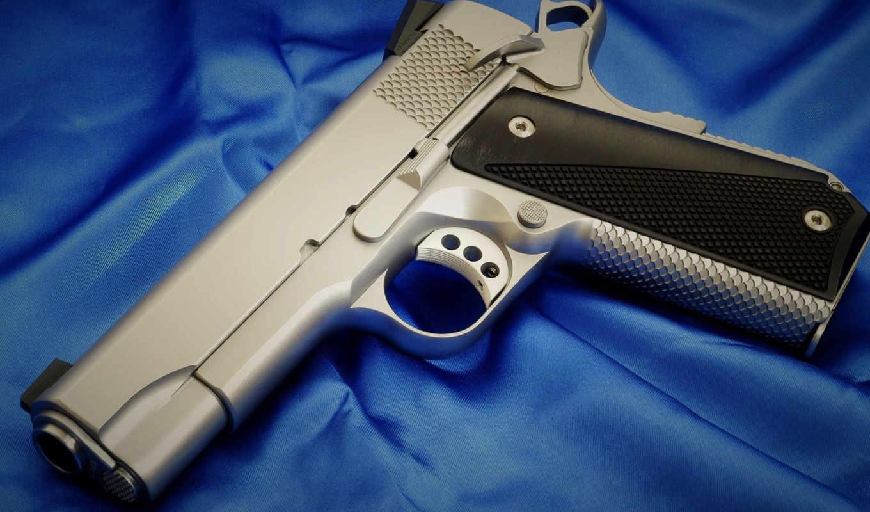 пистолет, кольт,
