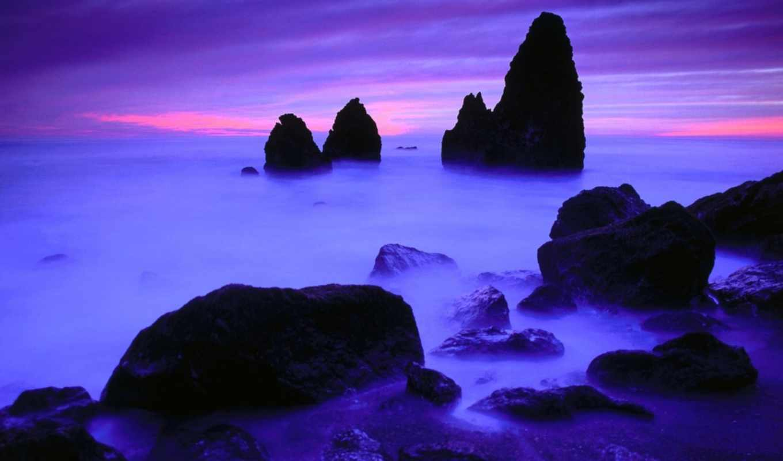 juan, san, закате, острова, закат, vol, nnm, purple,