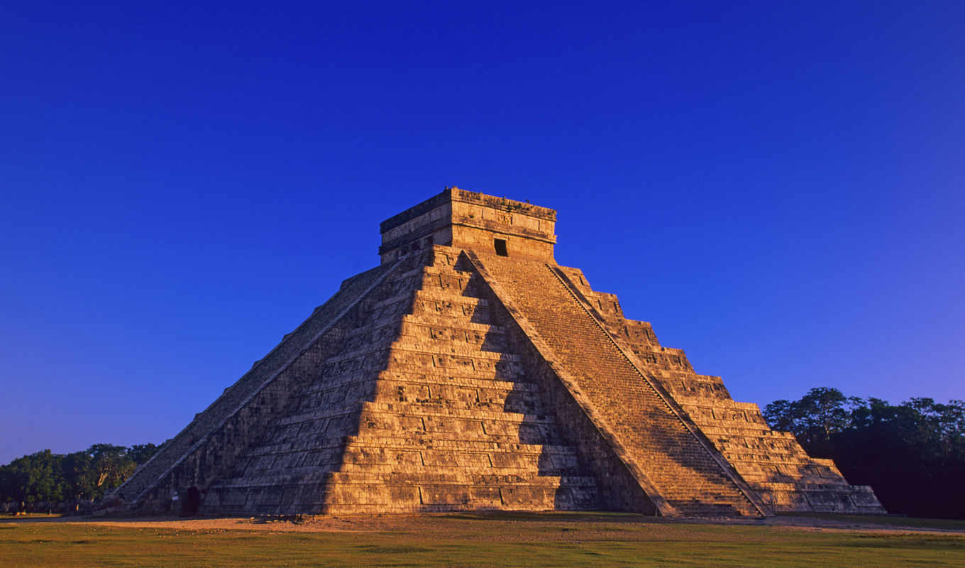 windows, pyramid, maya, mexico, itza, chichen, photos, вксетєѕ, picture, landscape,