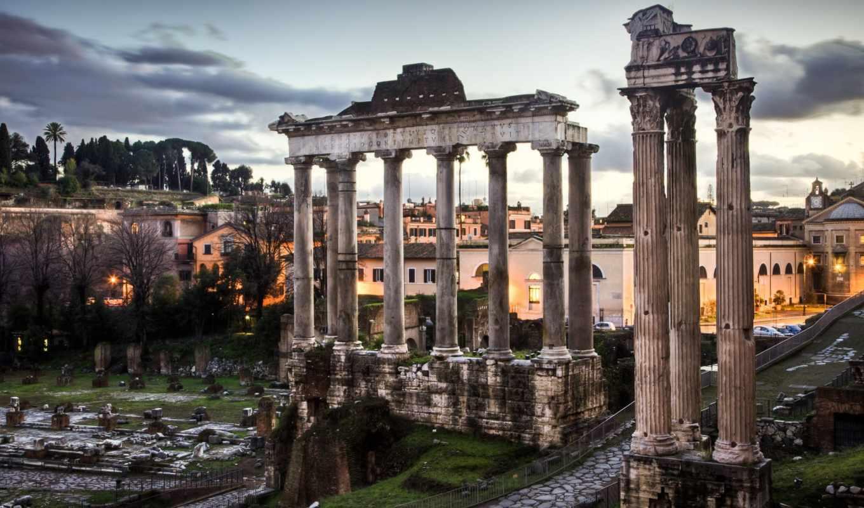 roman, forum, рим, италия, rim, развалины, italy,