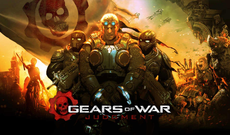 gears, war, judgment, войны, решение, игры, крутые, самые, play,