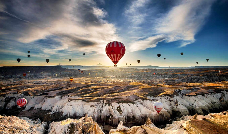 вконтакте, воздушные, aerial, turkey, воздушных, шаров, шары, сотни, поднимаются,