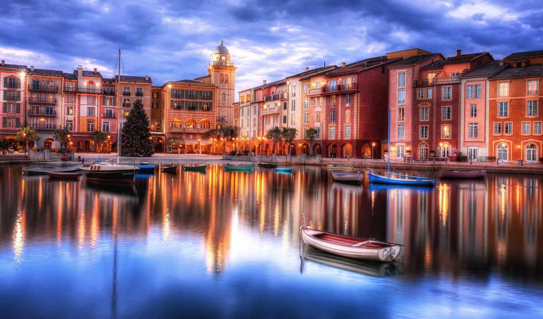 город, funart, stoloboi, корабль, water, italian, красивый