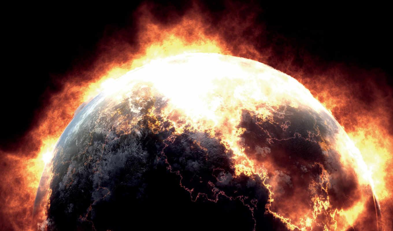 planet, взрыв, fire, планеты, planeta, stars, resolution, космос, galaxy, planète,