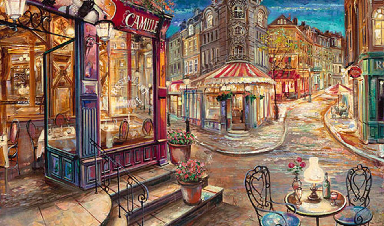 париж, парижа, улочки, улицы, свой, июня,