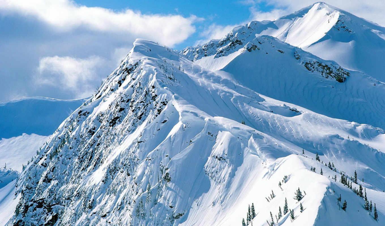 горы, красивые, фотографии, winter, февр, гор,