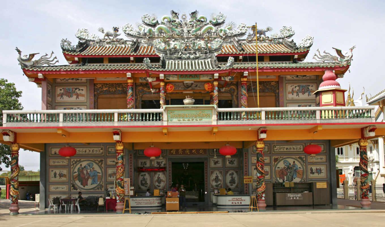 religious, buildings, взгляд, китаянка,
