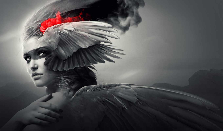fantasy, devushki, ангелы, крылья, angel, девушка,