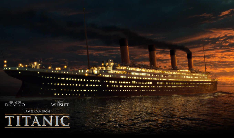 titanic, корабль,