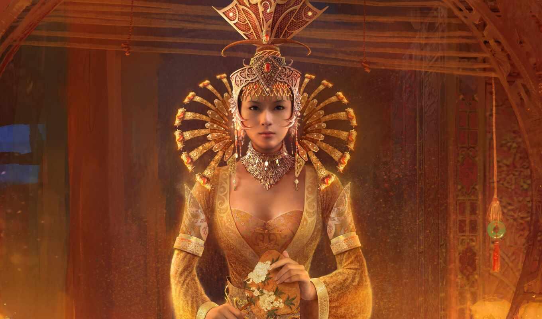 принцесса, девушка, красивый, stoloboi, который, sign, kai, fan