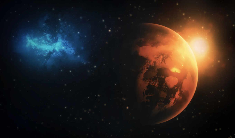 galaxy, ecran, planet, космос,