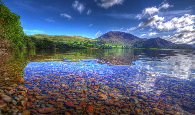 природа, горы, озеро, landscapes, природы, красивые, excelent, лес,