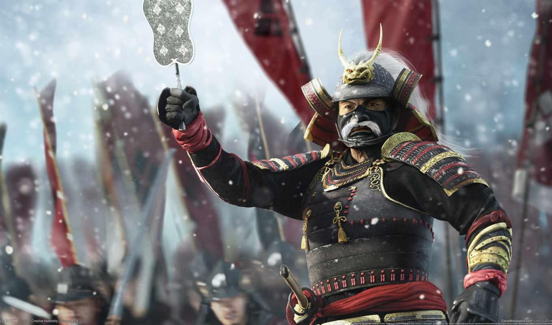 total, самурай, war, японии, япония, shogun, крупных,
